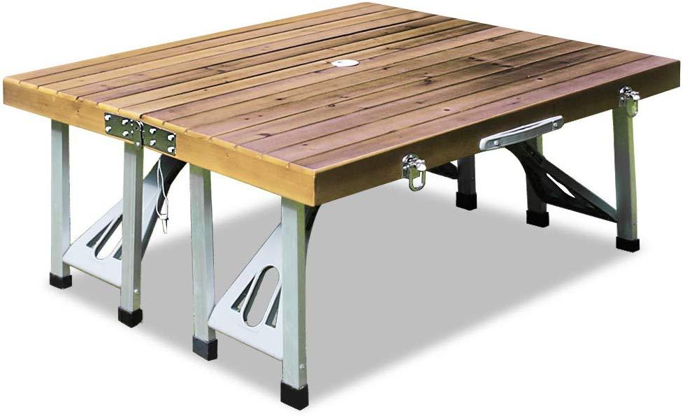 table de pique-nique pliable portable Deuba